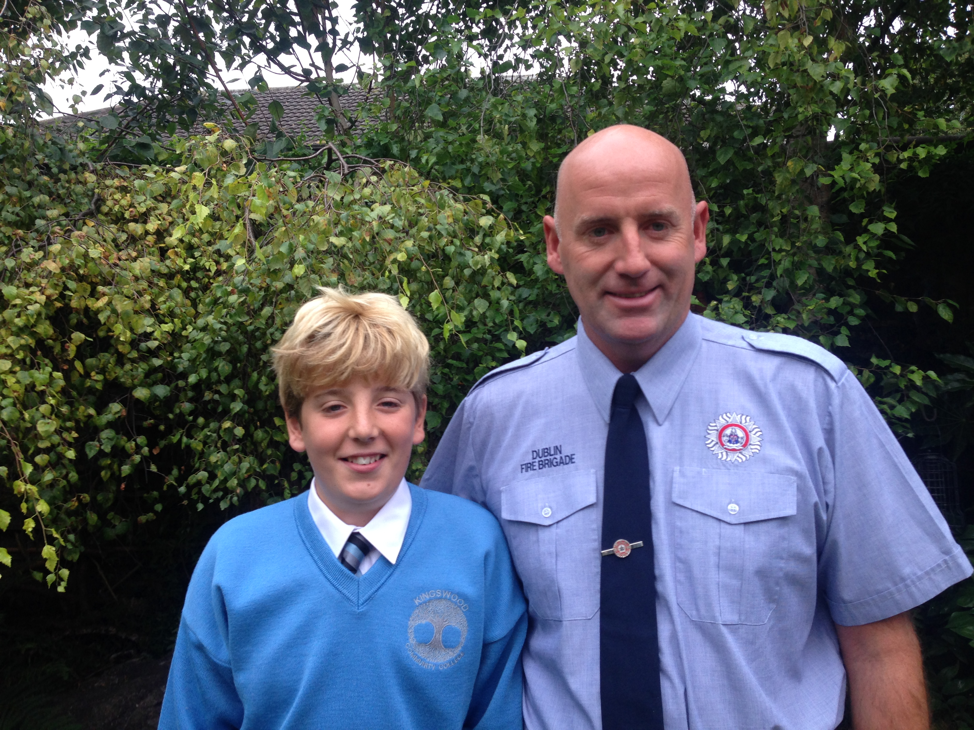 Vincent and Callan Donegan - Starting Secondary School