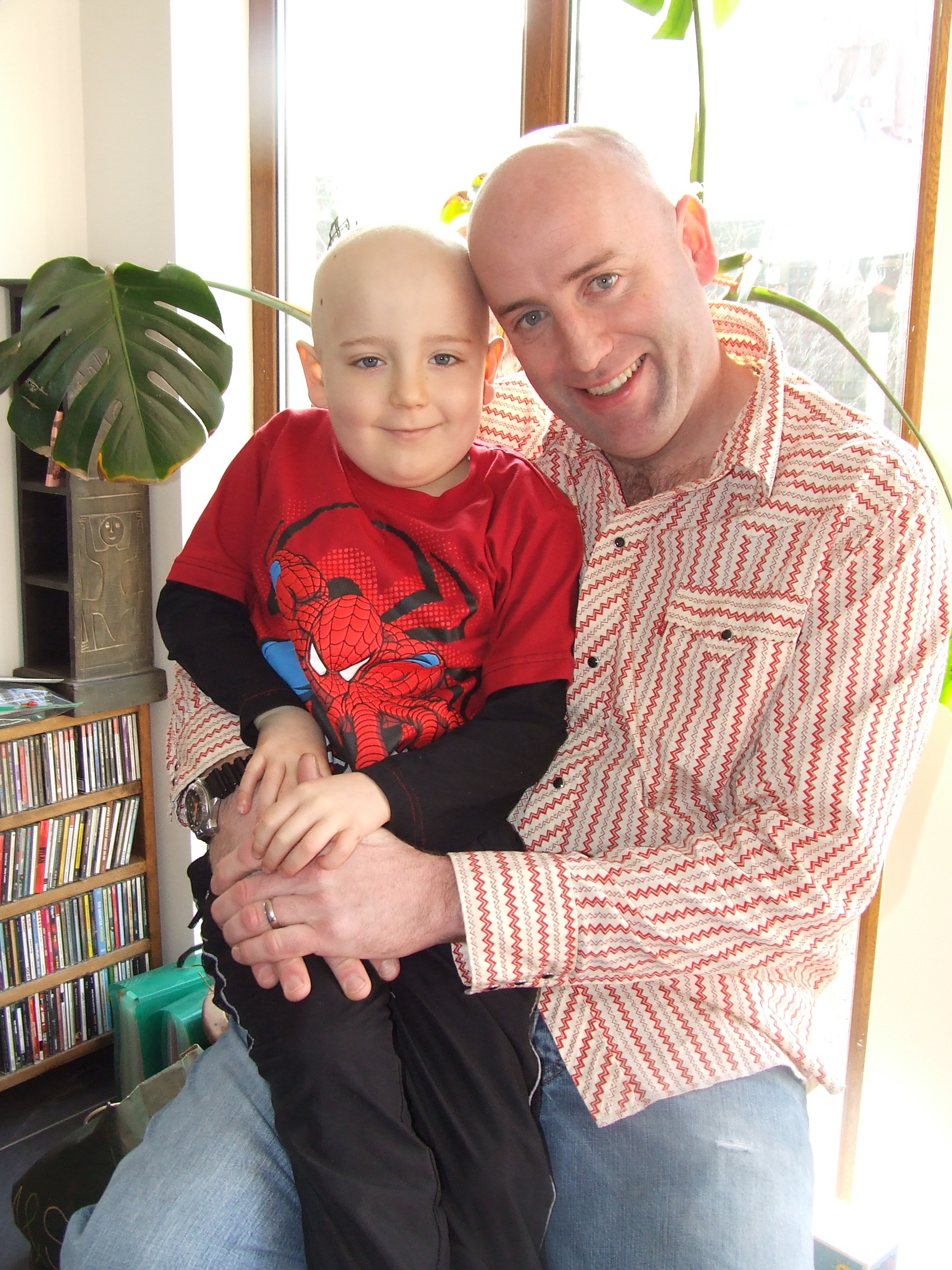 Vincent and Callan Donegan - Going through Treatment